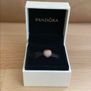 Authentic Pandora Rose Gold Love of My Life Clip